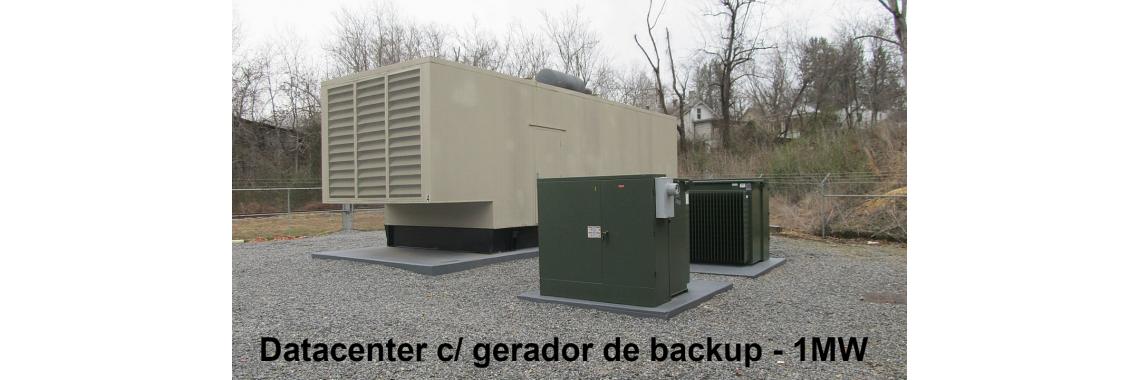 Gerador de emergência 1 MW