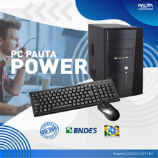 PC PAUTA WORK - ( Amd Ryzen R5-2400G 4GB DDR4 HD 1TB Freedos - Sem dvd )